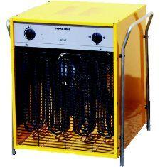 MASTER Ipari Hordozható elektromos hőlégfúvó ventilátorral B22 EPB beépített szobatermosztáttal