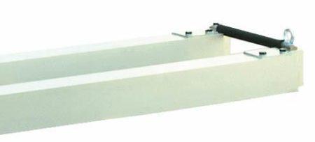 ENAR Iker aluminium gerenda, 2,5- 4,5 m között állitható, távtartókkal együtt