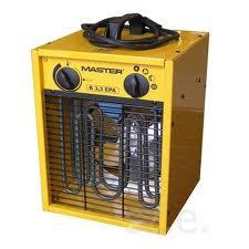 Gépkölcsönzés: Master elektromos fűtőberendezés