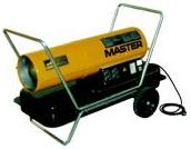 MASTER Hordozható gázolajos fűtőberendezés B 150 CED