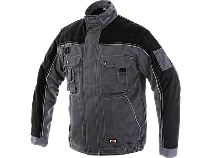 ORION OTAKAR Kabát szürke/fekete