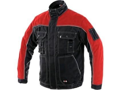 ORION OTAKAR Kabát fekete/piros