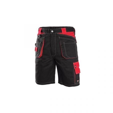 ORION DAVID Rövidnadrág fekete/piros