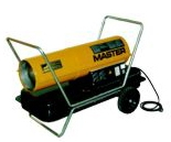 MASTER Hordozható gázolajos fűtőberendezés B 100 CED