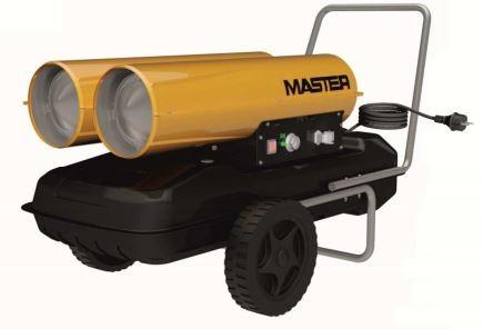 MASTER Hordozható gázolajos fűtőberendezés B 300 CED