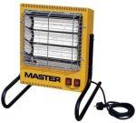 MASTER Infravörös elektromos fűtőberendezés TS 3A
