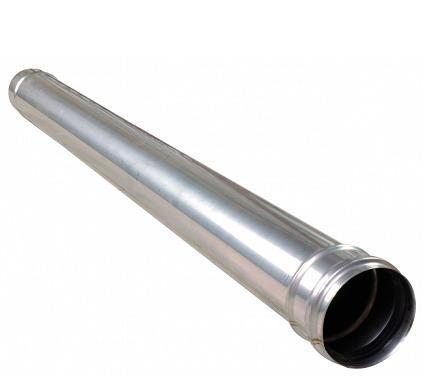 MASTER - Rozsdamentes acél füstcsőelem 120mm, 1m