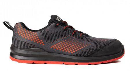 COVERGUARD MILERITE (S1P SRC) cipő szürke/piros/fekete