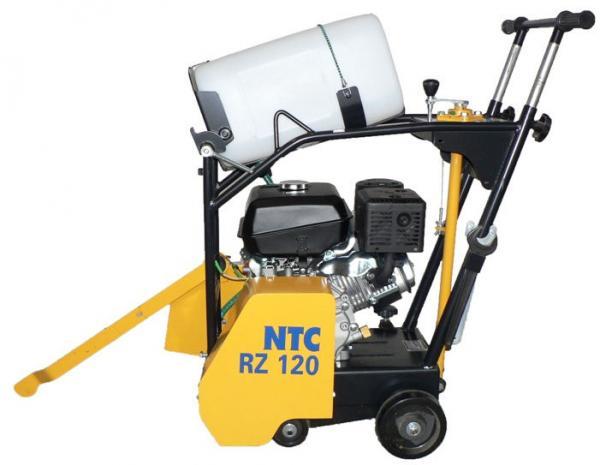 Gépkölcsönzés: Benzinmotoros aszfaltvágó 120mm mélységig